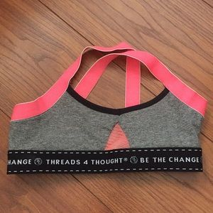 Threads 4 Thought sports bra like new size S